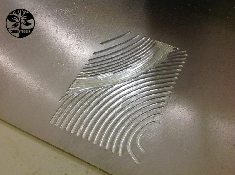 Usinagem cnc aluminio